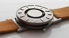 The Bradley Timepiece, a watch designed for blind people and named after a Paralympian gold medallist who lost his sight in Afghanistan, is up for design of the year at London's Design Museum.