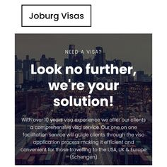 Joburg Visas are here to assist you with your visa applications by providing professional visa acquisition services that help you avoid rejections, minimize costs and save time by following the correct procedures and getting it right the first time!😁 Visit www.visas.joburg for more information! #joburg #joburgvisas #visaaquisitionservices #visaapplications #visas #visaservices #services #travel #online #CDMM #link #atyourservice #chamisadynastymediamoguls Digital Media, First Time, How To Get, Travel, Link, Viajes, Destinations, Traveling, Trips