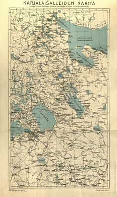Old Maps, Ww2, Vintage World Maps, History, Finland, Historia, Antique Maps, Old Cards