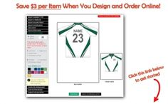 Customise and order online