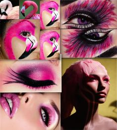 INSPIRATIONS for my DIY costume as a flamingo, street parade 2014 http://fashionsuffer.blogspot.ch/2014/08/streetparade-2014.html