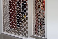 Modelos valla: LACE FENCE malla de encaje decorativa diseño alambre