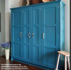 a9614da4471a Larder plus integrated fridge and freezer sections - John Lewis Kitchens