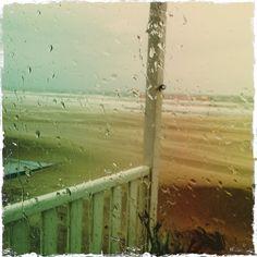 It's raining in Katwijk aan Zee!