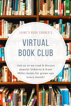 Join Jaime's Book Corner as we dive into some of the most popular Usborne & Kane Miller books for grown ups!
