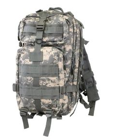 ACU Digital Camouflage Military MOLLE Medium Transport Backpack >>> Check this awesome product by going to the link at the image.Note:It is affiliate link to Amazon.