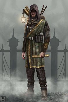 ArtStation - Victorian Era Character Concept #2, Simon Valev