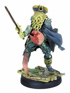 Pirates of the Caribbean Gentle Giant Animated Maquette Davy Jones Davy Jones, Beneath The Sea, Flying Dutchman, Tortured Soul, Captain Jack Sparrow, Animation, Comic Movies, Gentle Giant, Sculpture