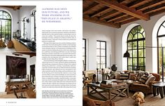 We made all the beautiful windows and doors for this Incredible New York City apartment conceived by Ralph Lauren designer Alfredo Paredes. Photo Credit: Architectural Digest. #MetalWindows #SteelWindows #Windows #Doors #NewYork #DreamApartment #InteriorDesign