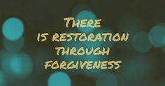 Lord, we are thankful for your forgiveness!  Amen! <3