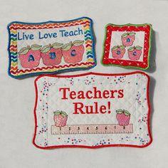 ITH Mug Rugs - Teachers