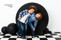 Andrew & Miquel from Sugar Kids for Sfera fw16