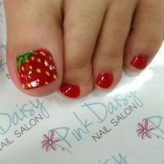 Cool summer pedicure nail art ideas 77 #Pedicure