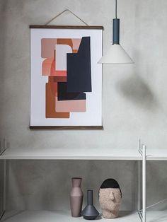De collect verlichting van ferm LIVING is een collectie eenvoudige fittingen en lampenkappen in verschillende kleuren en vormen. Combineer ze naar wens om een h
