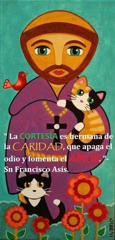 α JESUS NUESTRO SALVADOR Ω: La CORTESIA es hermana de la CARIDAD, que apaga el...