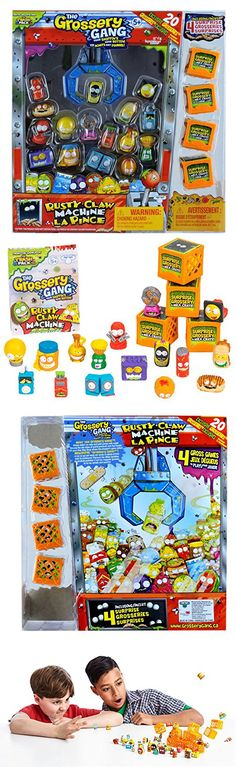 Other TV Movie Character Toys 2622: The Grossery Gang Series 2 - Mega Pack - Rusty Claw Machine … -> BUY IT NOW ONLY: $40.48 on eBay!