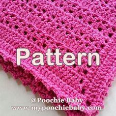 One Skein Baby Blanket Crochet Pattern