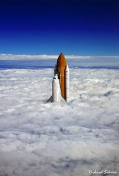 Above The Clouds by photographer Richard Silvera