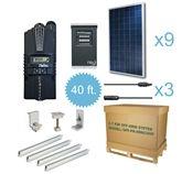 solar panel cabin kit for off-grid