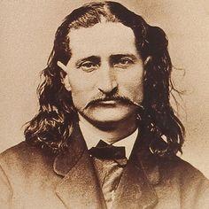 Wild Bill Hickock had very expressive eyes.