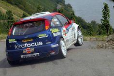 Carlos Sainz/Luís Moya. Ford Focus WRC. Rally d'Alemanya 2002.