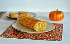 Hezzi-D's Books and Cooks: Pumpkin Roll with Apple Butter Cream Cheese Filling #applebutterspin #pumpkinweek