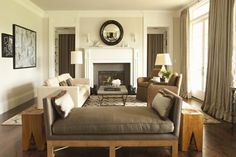 Houzz Tour: Balancing His and Hers Style  Traditional and modern tastes blend in Beverly Hills home  by architect and interior designer Tim Barber