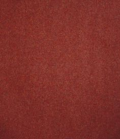 Arthur's Seat Wool Fabric A durable plain wool fabric in russet.