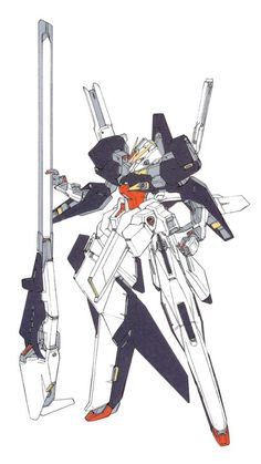 The RX-124 Gundam TR-6 (Hyzenthlay II) (also known as the RX-124 Gundam TR-6 (Advanced Woundwort)) is an experimental mobile suit that appears in the novel Advance of Zeta: The Flag of Titans. The Woundwort is named after the character Woundwort (fictional rabbit character from Watership Down).