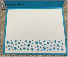 Make an easy card insert with the stars or hearts confetti punches Card Making Tips, Making Ideas, Scrapbook Cards, Scrapbooking, Punch Art Cards, Birthday Star, Star Cards, Cardmaking And Papercraft, Making Greeting Cards