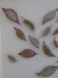 Glass leaves by Jo Downs Grand Designs Live, House Doctor, Leaves, Glass, Drinkware, Corning Glass