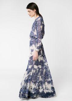 Spring 2014 Mango Blue dress of my dreams