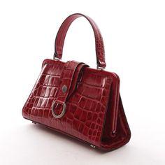 Exklusive Handtasche von Burberry in Rot - feminin und zeitlos