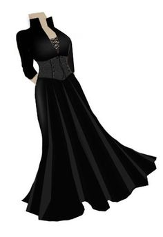 Long gothic Dress
