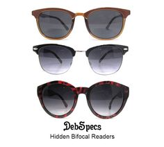 4ff3ff35a8c4 No-Line Bifocal Reading Sun Glasses. Sexy, quality styles under $20. Age