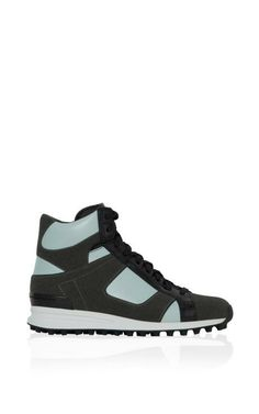 Trance High Top Sneaker In Peppermint by 3.1 Phillip Lim for Preorder on Moda Operandi