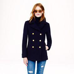Majesty peacoat - wool & puffer jackets - Women's outerwear & blazers - J.Crew (HIMYM the Mother)