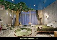 Beautiful room! I could never imagine sleeping with that tree in my room!