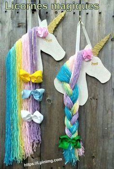 Diy how to make unicorn ornaments handmade christmas craft fabulous 17 - Elva Photography HOW TO DECORATE Before you're prepared to create your ornaments you ought to make the horns. Felt ornaments are simpl. Use as party decor or use the mane as a place Handmade Christmas Crafts, Handmade Ornaments, Felt Ornaments, Unicorn Rooms, Unicorn Bedroom, Craft Projects, Crafts For Kids, Arts And Crafts, Craft Ideas