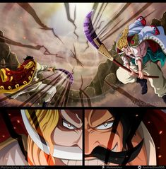 Edward Newgate (Shirohige) vs Gol D. Roger - One Piece Capítulo 966 Manga One Piece Wallpapers, One Piece Wallpaper Iphone, Animes Wallpapers, One Piece Chapter, One Piece Ace, One Piece Luffy, Manga Anime One Piece, One Piece Fanart, Barba Blanca One Piece