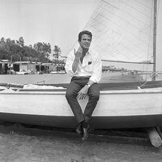 Warren Beatty in Venice, 1965