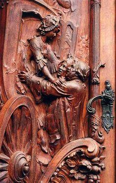 . Cool Doors, The Doors, Unique Doors, Windows And Doors, Door Knobs And Knockers, Porte Cochere, Closed Doors, Wooden Doors, Doorway