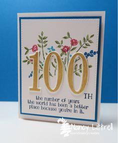 Ivenes 100th Birthday By Nancy Littrell