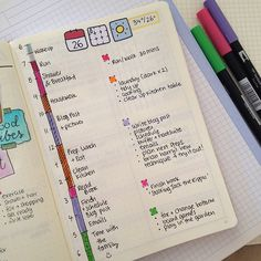 The new thing that i've been implementing in my daily planning with my bullet journal is called 'daily plan bar'. It's a way to block out time during the day to do a certain things, and be more productive.