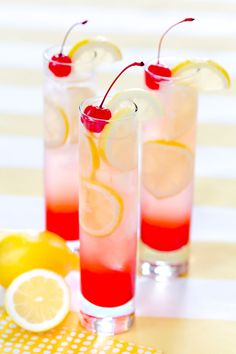 Refreshing Cherry Lemonade, my go to recipe!