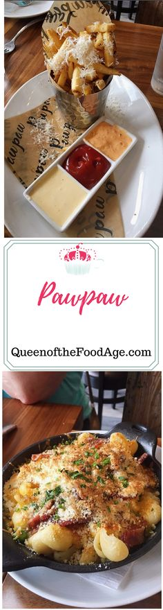 A review of Pawpaw restaurant in Charleston, SC by Queen of the Food Age.