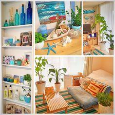 カリフォルニアスタイル/一人暮らし/西海岸インテリア/IKEA/るくるーぜ…などのインテリア実例 - 2015-05-10 08:50:51 | RoomClip(ルームクリップ)