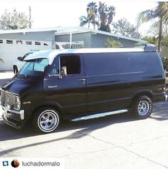 Custom Dodge Van