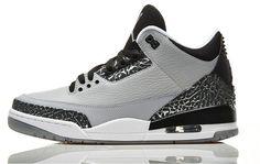 Order Original Jordan Wolf Grey 3s On Feet Size Air Sneakers Jordans