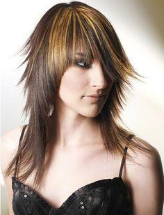 -layered haircuts on Pinterest | Long Layered Haircuts, Long Layered ...